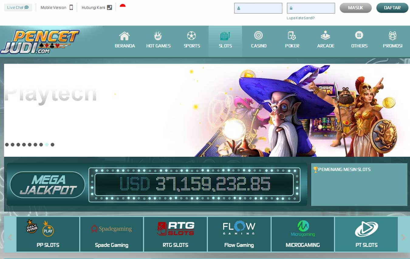 List of Trusted Online Gambling Slots Gambling Sites on Pencetjudi
